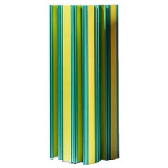 Jorge Penadés Aluminum Pez Vaca of Piscis Collection Contemporary Yellow Green