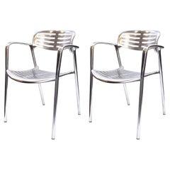 Jorge Pensi for Knoll Modern Aluminum 'Toledo' Chairs