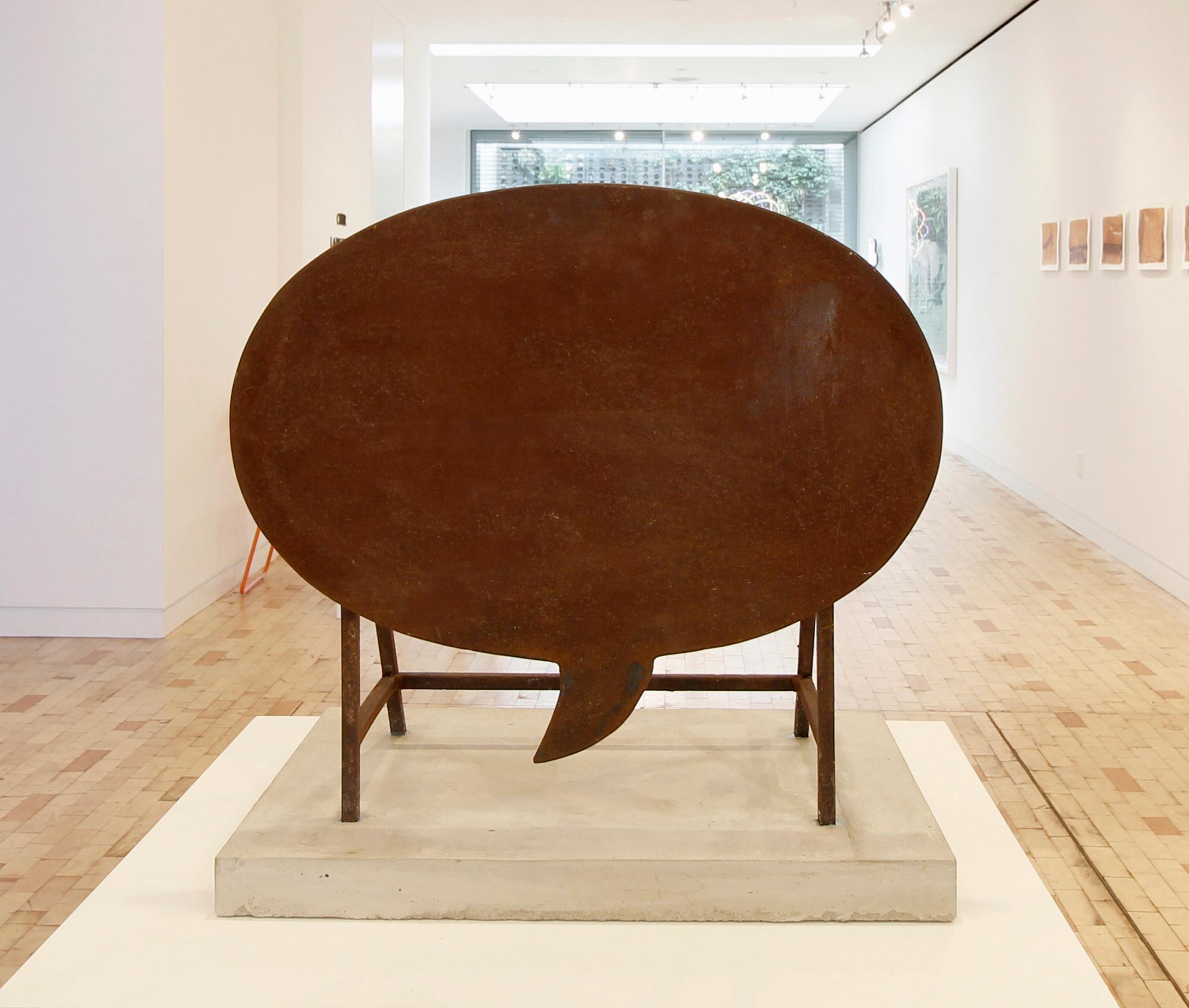 Empty Words, Sculpture