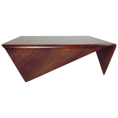 Jorge Zalszupin Andorinha Coffee Table, circa 1960, Brazil