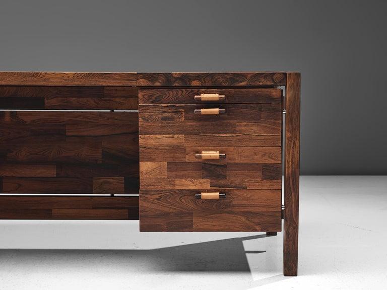 Jorge Zalszupin Executive Desk in Rosewood For Sale 3