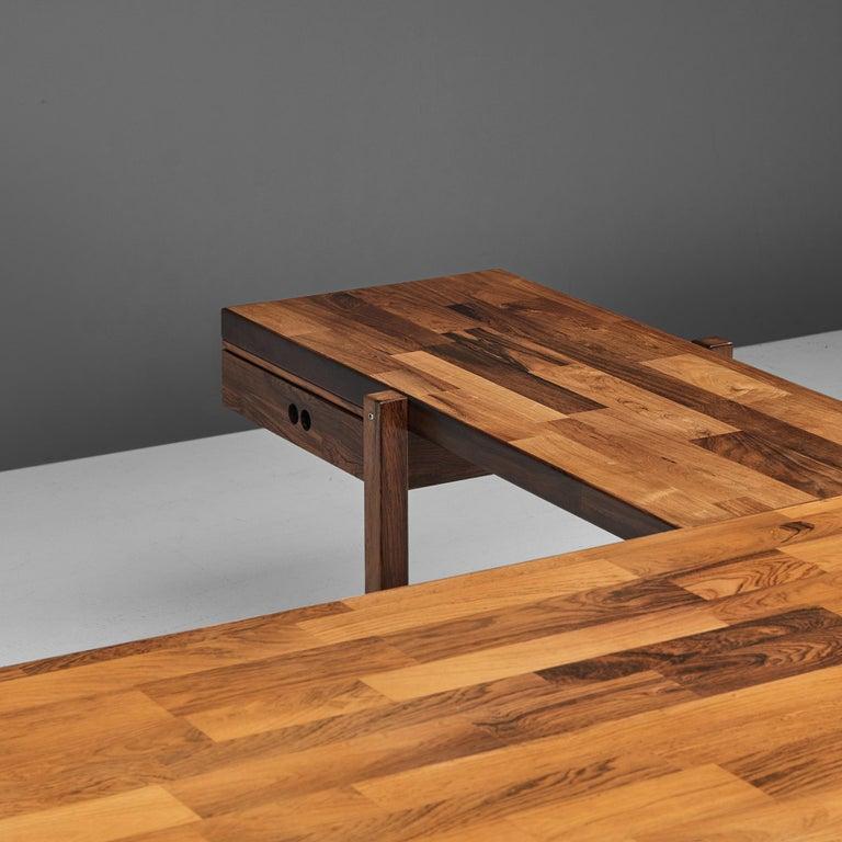 Jorge Zalszupin Executive Desk in Rosewood For Sale 5