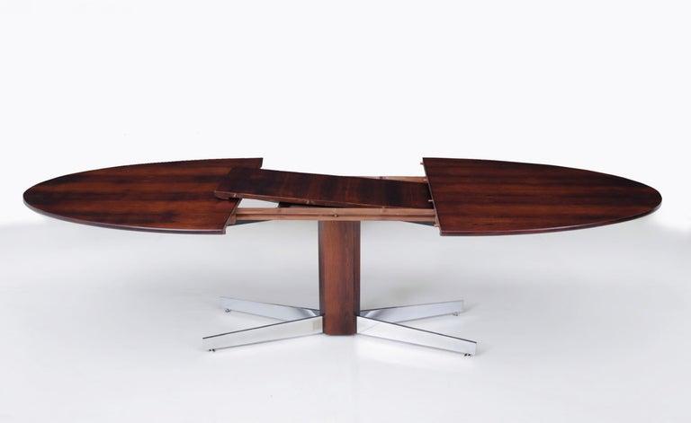 Mid-Century Modern Jorge Zalszupin for L'Atelier Jacaranda Dining Table, Brazil, 1960 For Sale