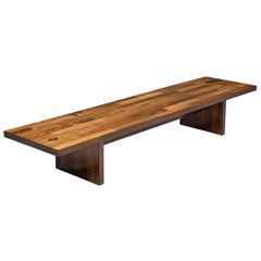 Jorge Zalszupin Large Bench in Rosewood