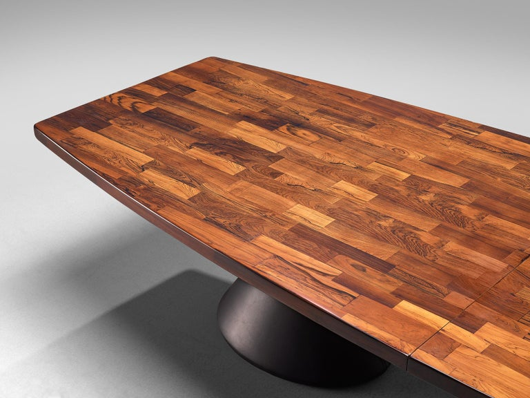 Mid-20th Century Jorge Zalszupin Large 'Guanabara' Pedestal Dining Table For Sale