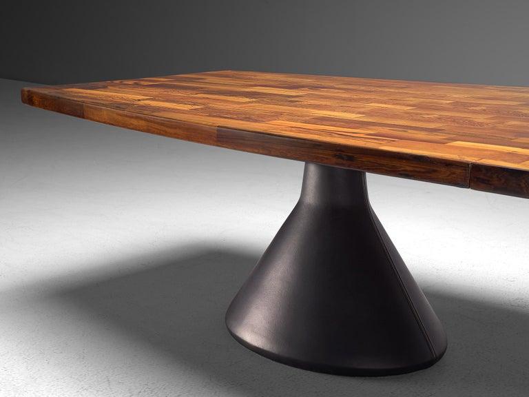Jorge Zalszupin Large 'Guanabara' Pedestal Dining Table For Sale 1