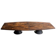 Jorge Zalszupin Large 'Guaruja' Rosewood Vintage Dining Table
