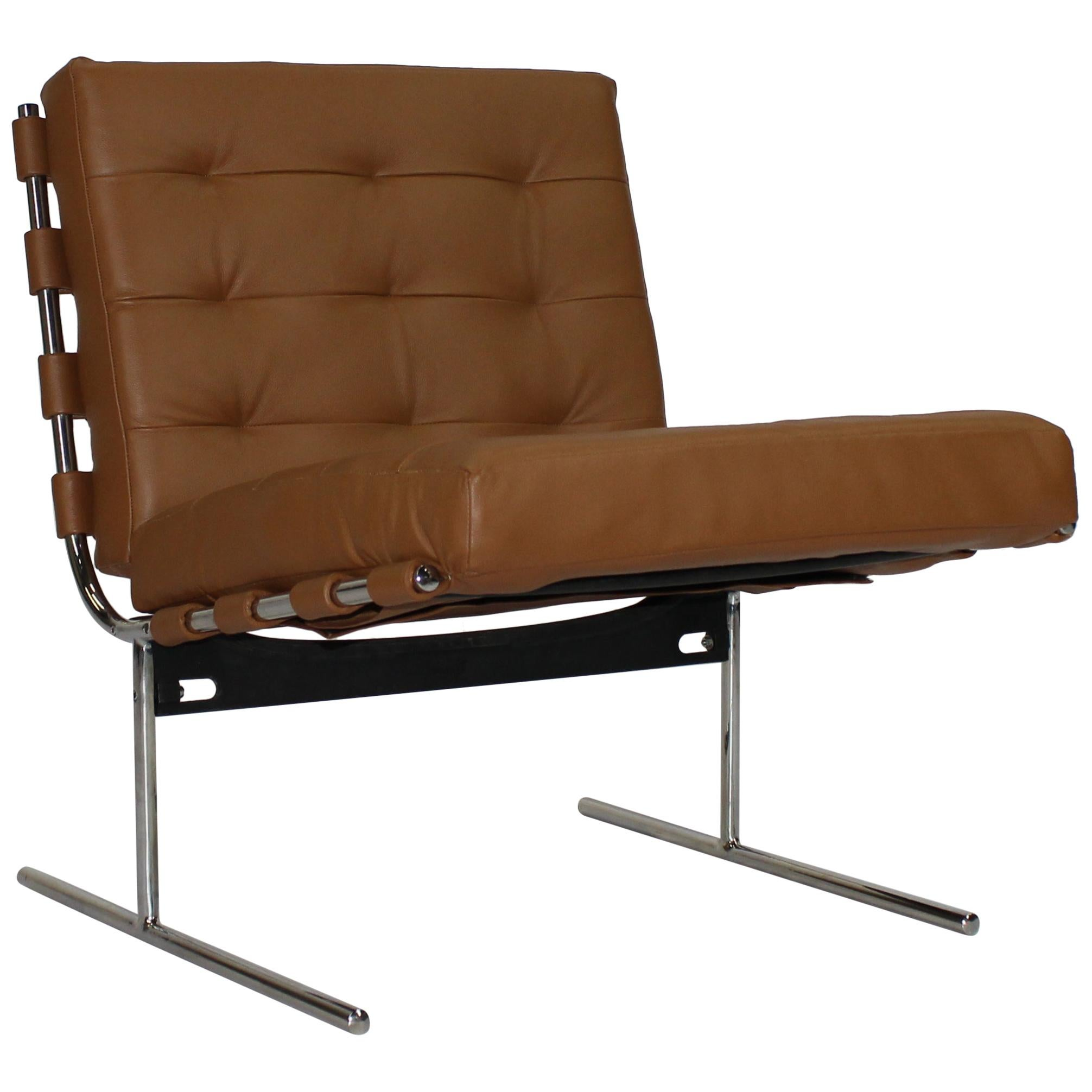 "Jorge Zalszupin ""Oxford"" Midcentury Brazilian Armchair, 1960s"