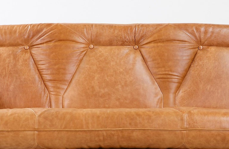 "Mid-20th Century Jorge Zalszupin ""Presidencial"" Rosewood Sofa for L'Atelier For Sale"