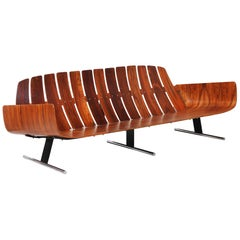"Jorge Zalszupin ""Presidencial"" Rosewood Sofa for L'Atelier"