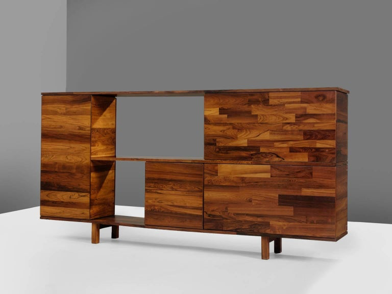 Jorge Zalszupin for L'Atelier, rosewood, Brazil, circa 1960