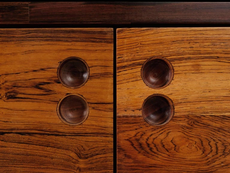 Mid-20th Century Jorge Zalszupin Rosewood Room Divider For Sale