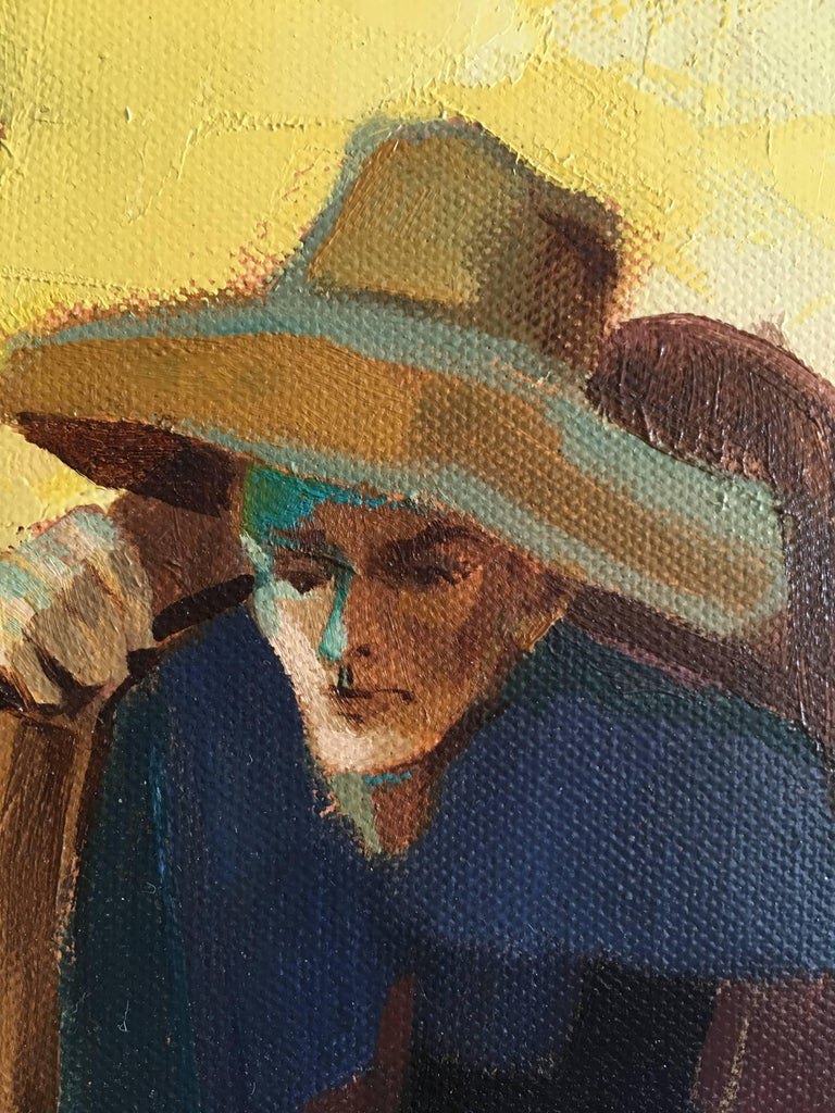 After summer - Contemporary Painting by Jori Duran