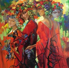The fairies of the vineyard
