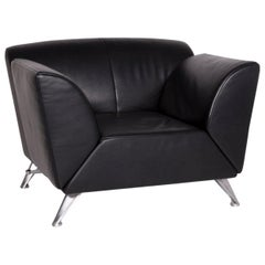 Jori JR-8100 Leather Armchair Black