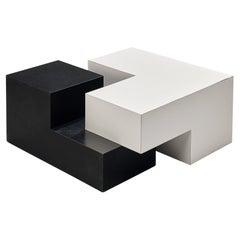 Jos De Mey Bicolour Modular Coffee Table
