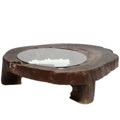 """José Zanine Caldas """"Mesa Baixa"""" Coffee Table in Mahogany, circa 1970"""
