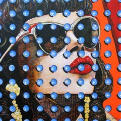"Contemporary Portrait of Beautiful Woman, ""Ana Beatriz"""