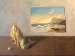 The Mermaid, Oil Painting