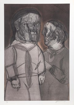 Justine y el Marquez de Sade, 1989 by Jose Luis Cuevas