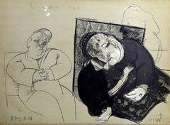 L'amour Fou, Lithograph by Cuevas 1968