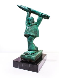 """Homenaje al Lápiz I"", José Luis Cuevas, Bronze Sculpture"