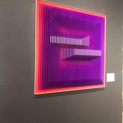 Displaced Illusion 30PR - Geometric Abstract wall sculpture