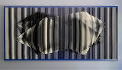 'Dual Perception', Abstract, Geometric, Kinetic Wall Art