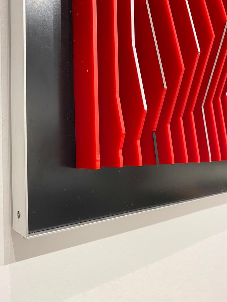 J. Margulis - Catalyst - kinetic wall sculpture  For Sale 3