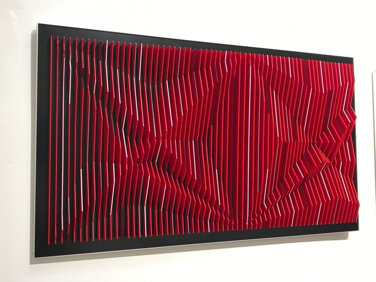 J. Margulis - Catalyst - kinetic wall sculpture  - Mixed Media Art by Jose Margulis