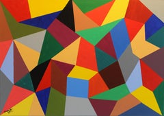 TRIANGULOS, Painting, Acrylic on Canvas