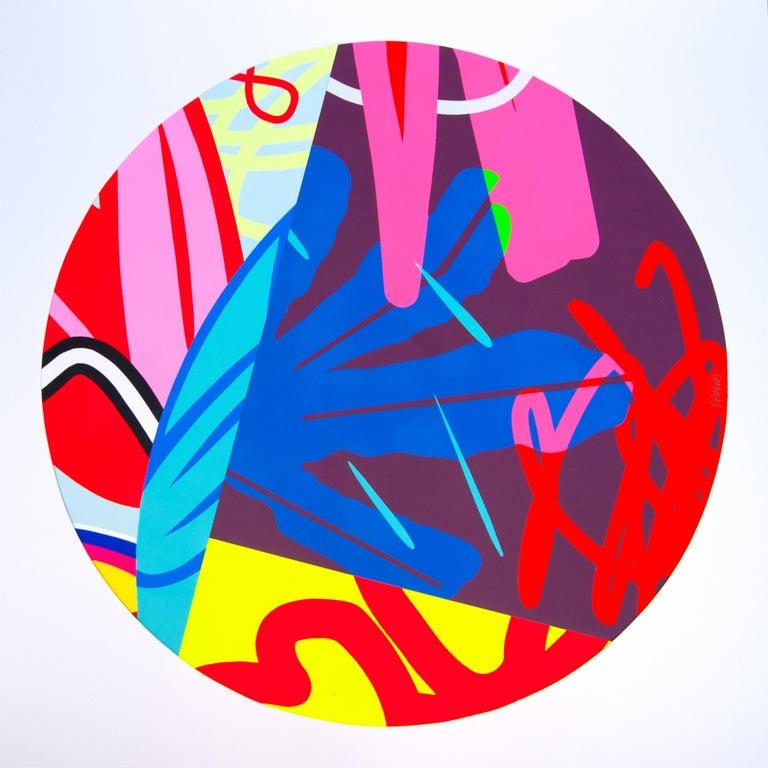 Jose Palacios, Skylight 1, Mixed media on board, 2020 - Mixed Media Art by Jose Palacios