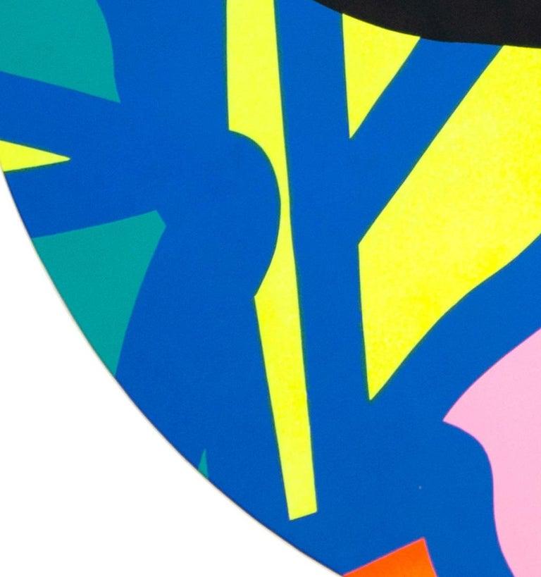 Jose Palacios, Skylight 2, Mixed media on board, 2020 - Pop Art Painting by Jose Palacios