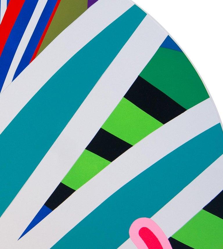Jose Palacios, Skylight 4, Mixed media on board, 2020 - Pop Art Mixed Media Art by Jose Palacios