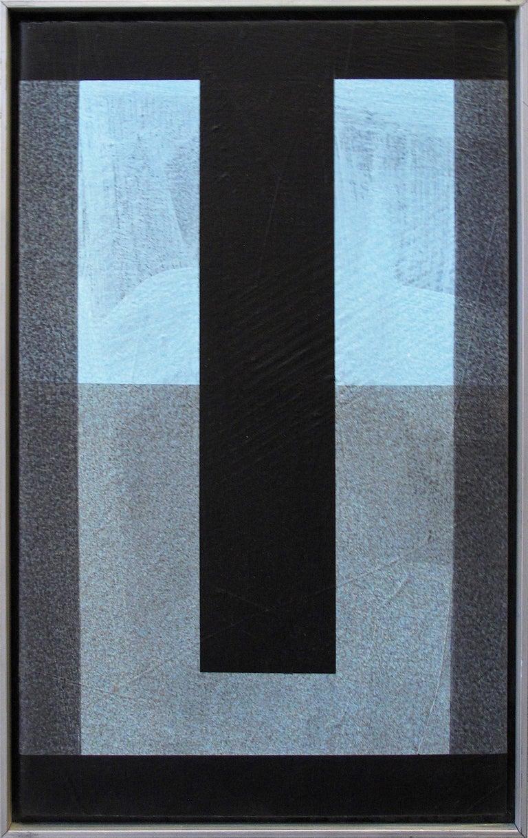 Jose Pascual Hijuelos Abstract Painting - Poco Azul