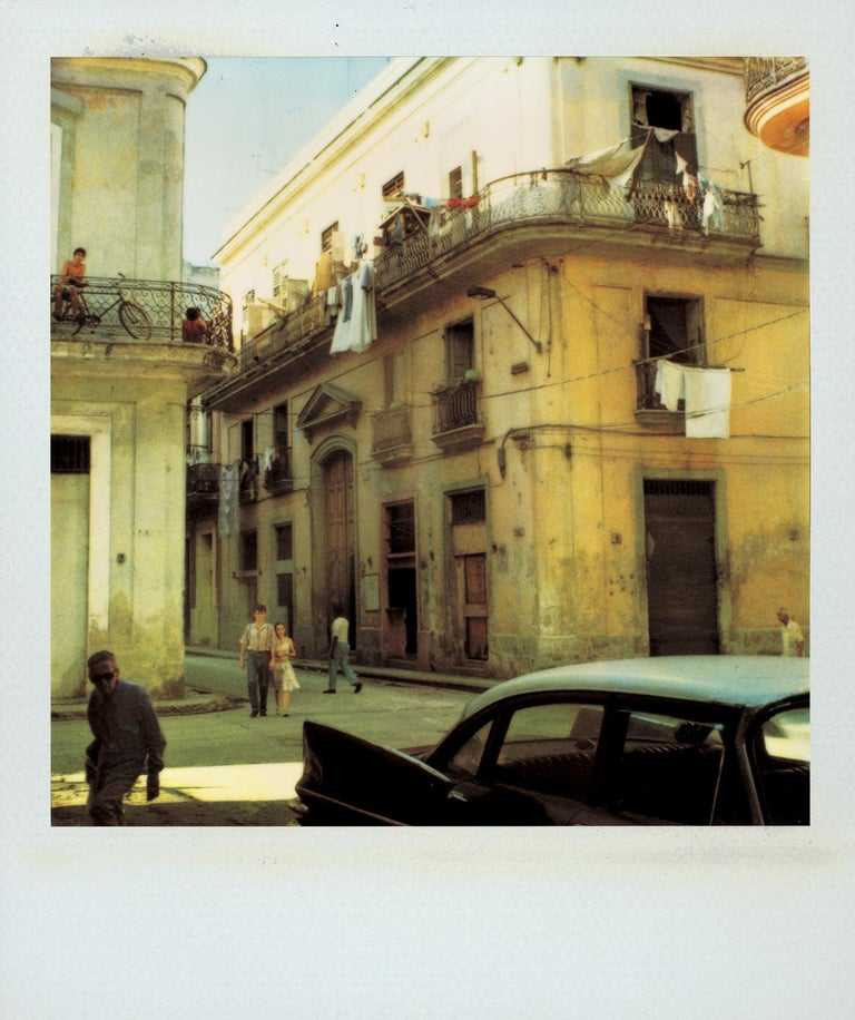 "Jose Picayo Color Photograph - ""From the Church La Merced"", Cuba, 1994"