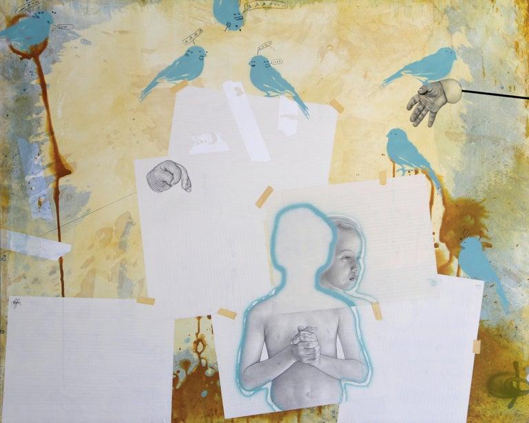 UNTITLED - Painting by José Rodríguez