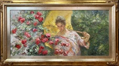 Spring - José Royo Oil painting on canvas Impressionist