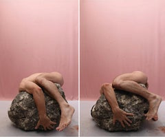 """""""8"""" and """"7"""", Diptych from the series La Piedra Sustituta"""