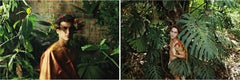 Untitled II and IV, Diptych from the series of La Costilla Roja