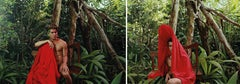 Untitled VIII and X, Diptych from the series of La Costilla Roja