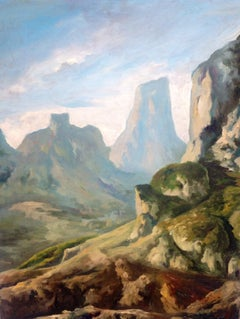 Untitled, Desert Mountains in Spring