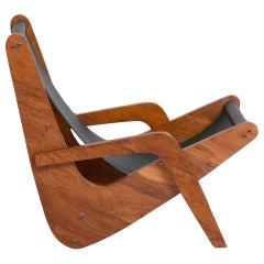 "José Zanine Caldas ""Boomerang"" Lounge Chair - Brazil, 1950s"