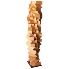 """Josecho López Llorens Unique Piece Sculpture Birch """"Torso 19004"""", Spain, 2019"""