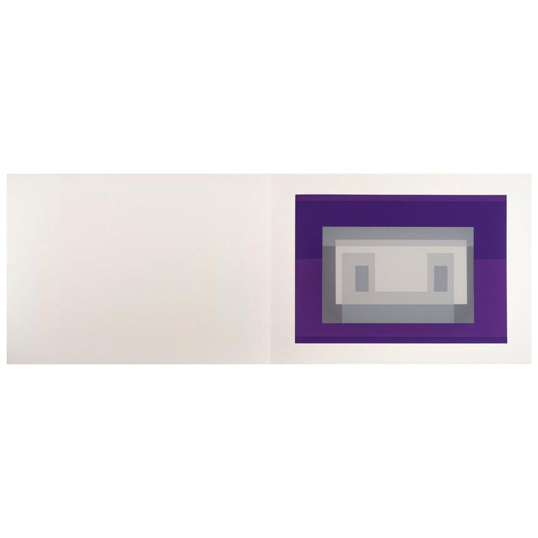 "Josef Albers ""Formulation : Articulation"" Portfolio II, Folder 18 For Sale"
