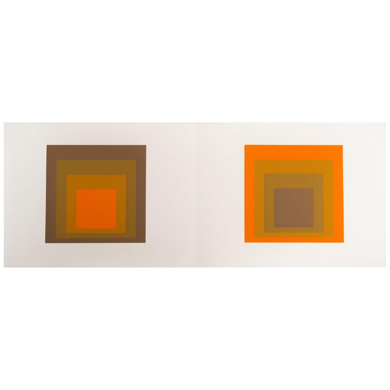 "Josef Albers ""Formulation : Articulation"" Portfolio II, Folder 19 For Sale"