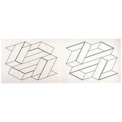 "Josef Albers ""Formulation : Articulation"" Portfolio II, Folder 21"