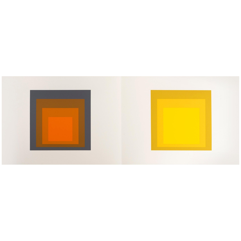 "Josef Albers ""Formulation : Articulation"" Portfolio II, Folder 24"