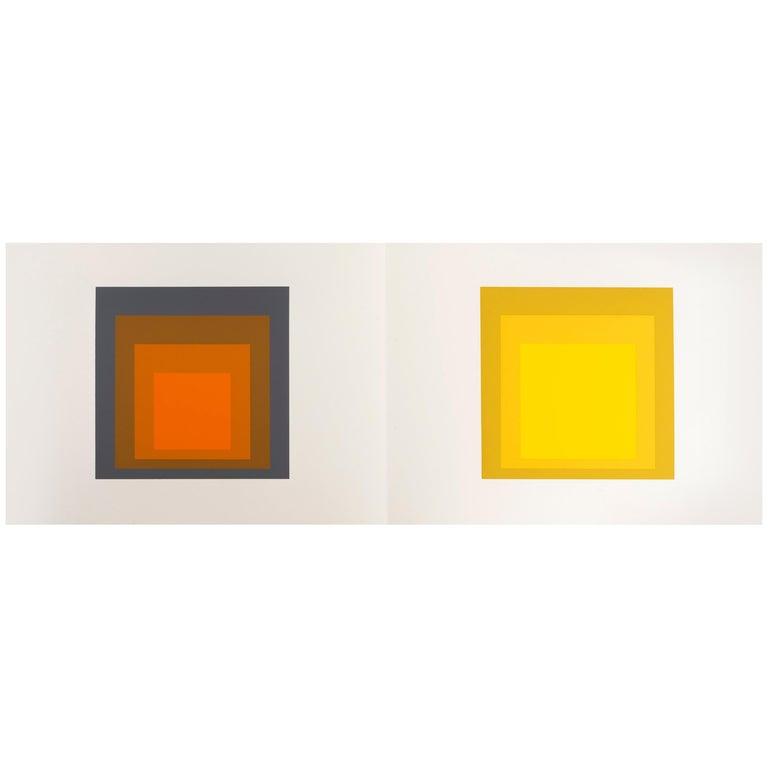 "Josef Albers ""Formulation : Articulation"" Portfolio II, Folder 24 For Sale"