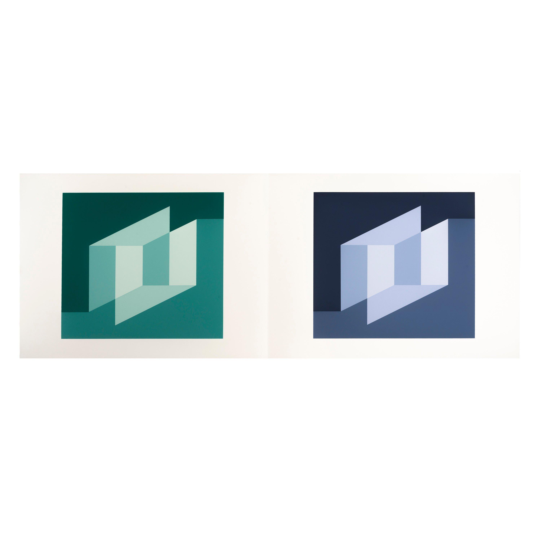 "Josef Albers ""Formulation : Articulation"" Portfolio II, Folder 25"